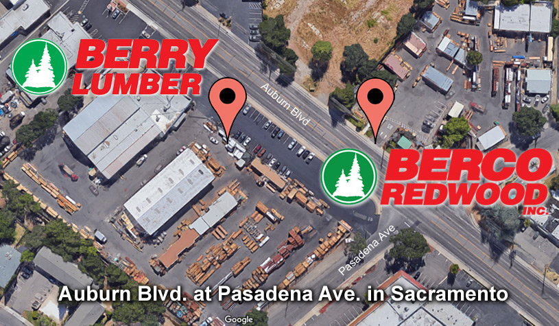 Berco Redwood - Berry Lumber Location